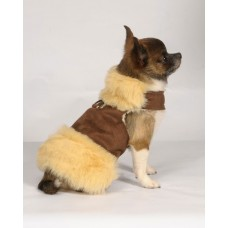 Chocolate Fur Harness