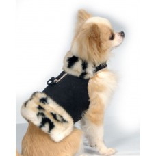 Leopard Fur Harness