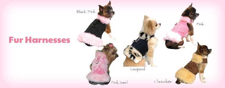 2 Fur Harnesses